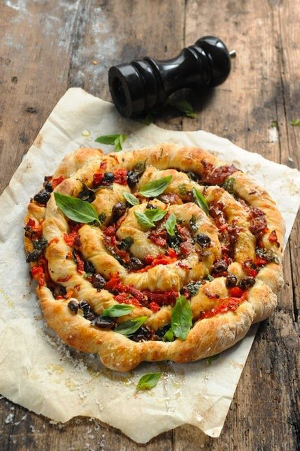 Twisted Pizza - (Free Recipe below)