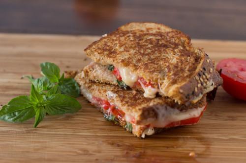 Basil Havarti &  Tomato w/ Honey Grilled Cheese - (Free Recipe below)