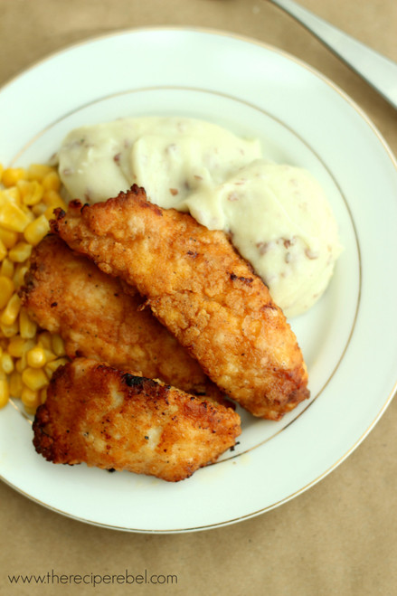 THE BEST OVEN FRIED CHICKEN - (Free Recipe below)