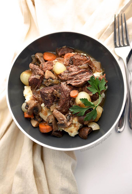 GOURMET BEEF BOURGUIGNON - (Free Recipe below)