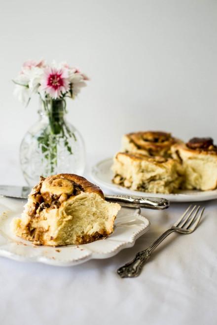 Hazelnut and Dulce de Leche Brioche Rolls - (Free Recipe below)