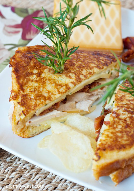 Turkey Monte Cristo with Rosemary Aioli - (Free Recipe below)
