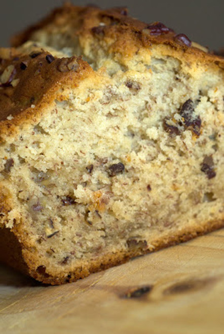 Cream Cheese Banana Nut Bread w/ recipe below