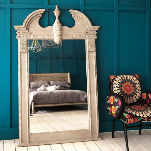 Neoclassical Floor Mirror