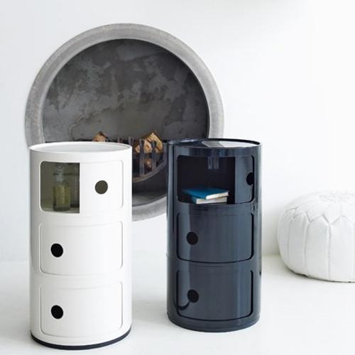Kartell Componibili Storage Unit - Black or White