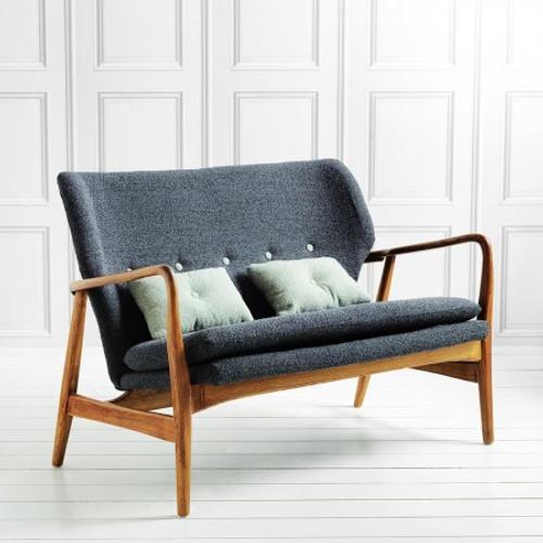 Retro Two Seater Sofa