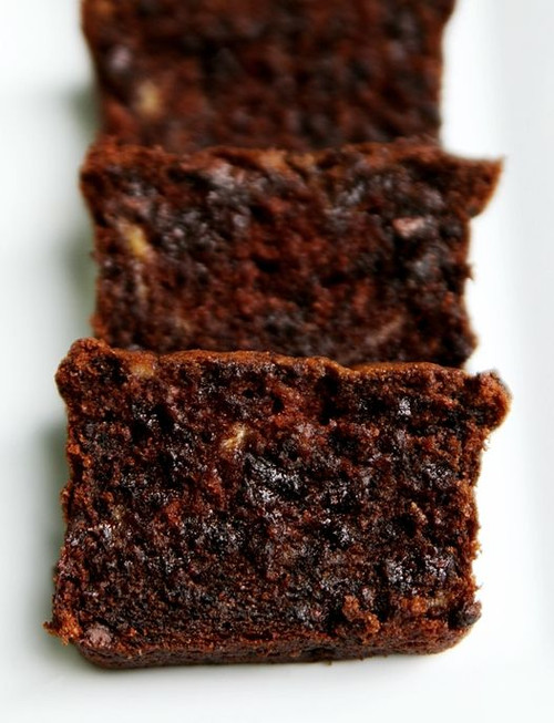 Rich and Moist: Sour Cream Chocolate Chocolate Chip Banana Bread w/ Recipe below