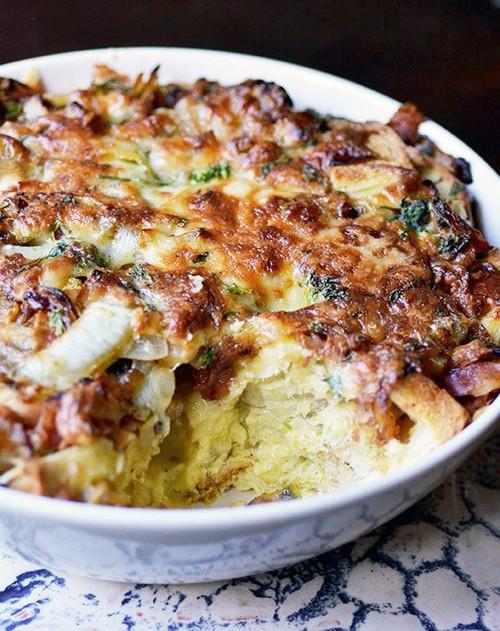 Ham and Cheese Breakfast Casserole - (Free Recipe below)