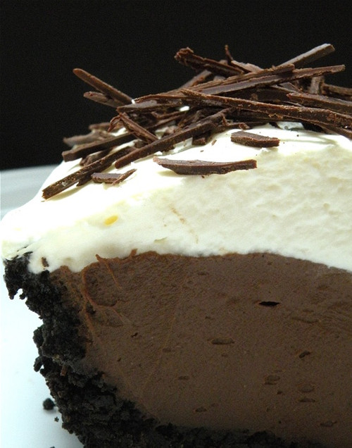 Decadent Chocolate Cream Pie w/ recipe below