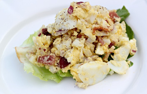 Paleo Egg Salad - (Free Recipe below)