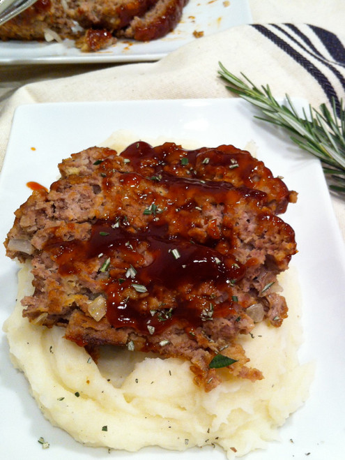 Homestyle Brown Sugar Meatloaf - (Free Recipe below)