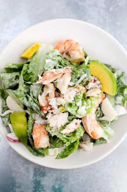 AVOCADO LOBSTER SALAD - (Free Recipe below)