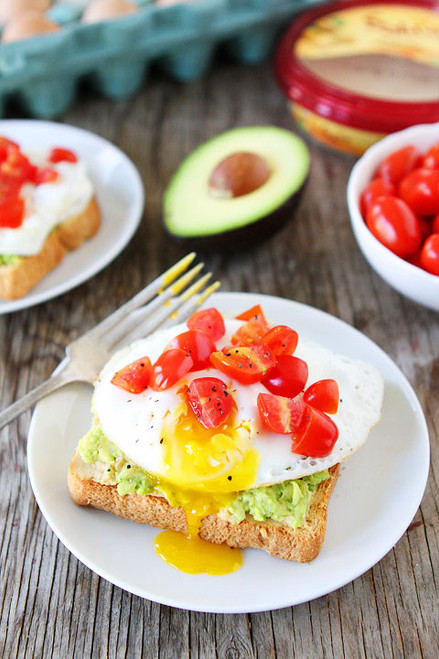 Hummus, Avocado, and Egg Toasts - (Free Recipe below)