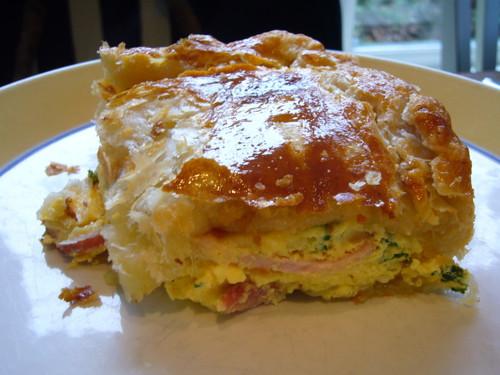 New Zealand Bacon & Egg Pie - (Free Recipe below)