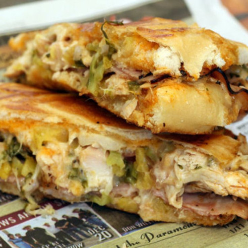 Cuban Sandwich with Mojo Sauce - (Free Recipe below)