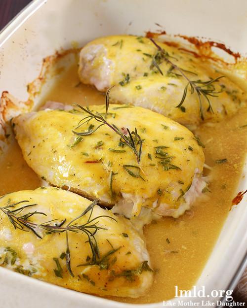 Rosemary Mustard Chicken - (Free Recipe below)
