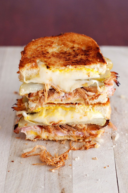 The Cuban Grilled Cheese - (Free Recipe below)