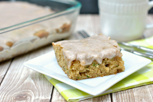 Zucchini Banana Bars - (Free Recipe below)