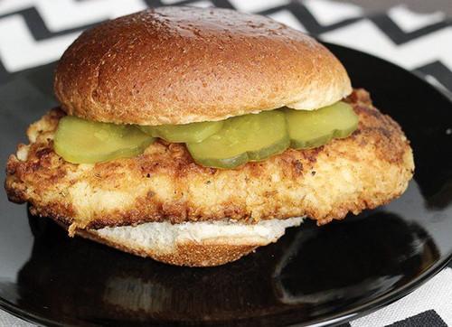 Skinny Chick-Fil A Sandwich - (Free Recipe below)