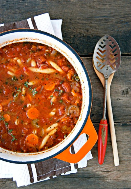 Chunky Vegetable Tomato Soup - (Free Recipe below)