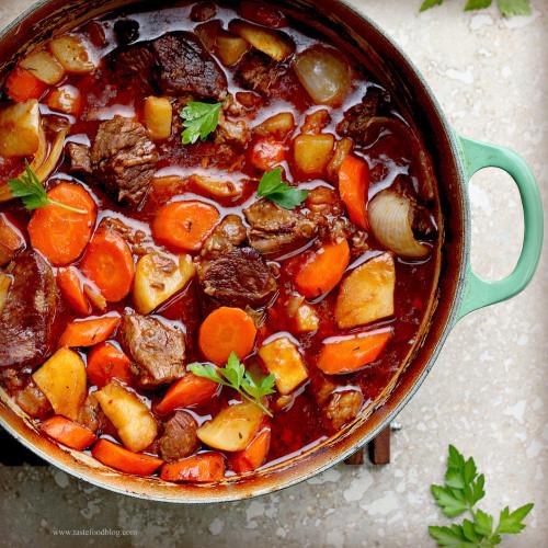 Irish Beef Stew - (Free Recipe below)