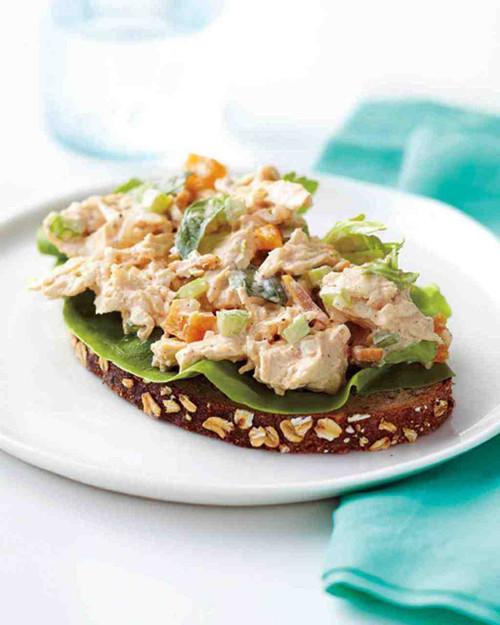 Crunch Apricot Basil Chicken Salad - (Free Recipe below)