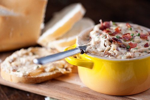 Caramelized Onion and Crispy Prosciutto Dip - (Free Recipe below)