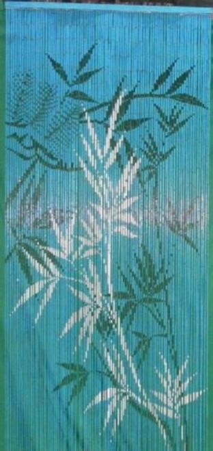 Night Bamboo Trees Bamboo Beaded Curtain