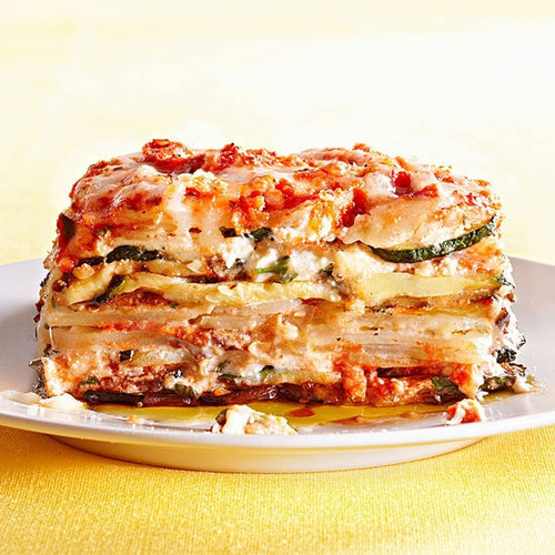 Healthy Vegetable Lasagna - (Free Recipe below)