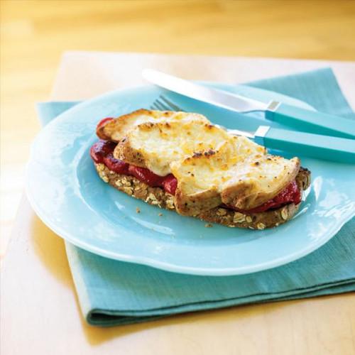Provolone Chicken Melt - (Free Recipe below)