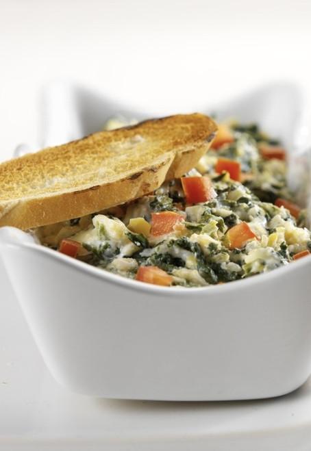 Skinny Spinach & Artichoke Dip - (Free Recipe below)