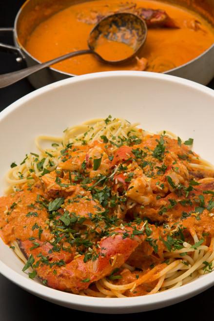 Spicy Lobster Pasta - (Free Recipe below)