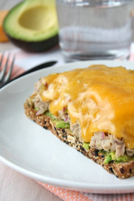 Kicked Up Tuna Melt - (Free Recipe below)