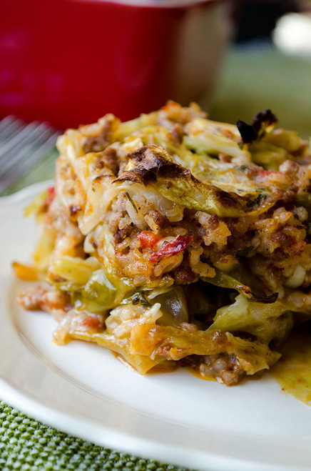 UNSTUFFED CABBAGE CASSEROLE - (Free Recipe below)