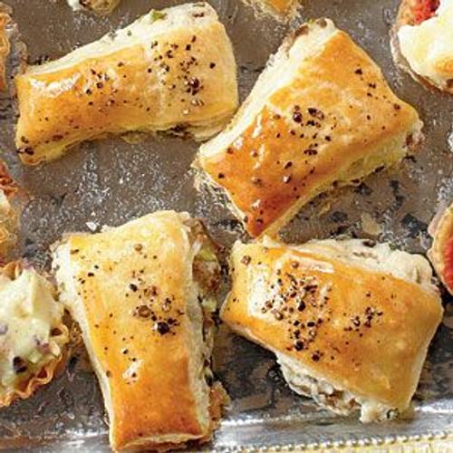 Mini Mushroom Puff Pastry - (Free Recipe below)
