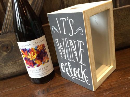 Wine Cork Holder, It's Wine O'Clock