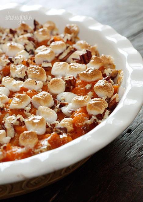 Skinny Sweet Potato Casserole - (Free Recipe below)