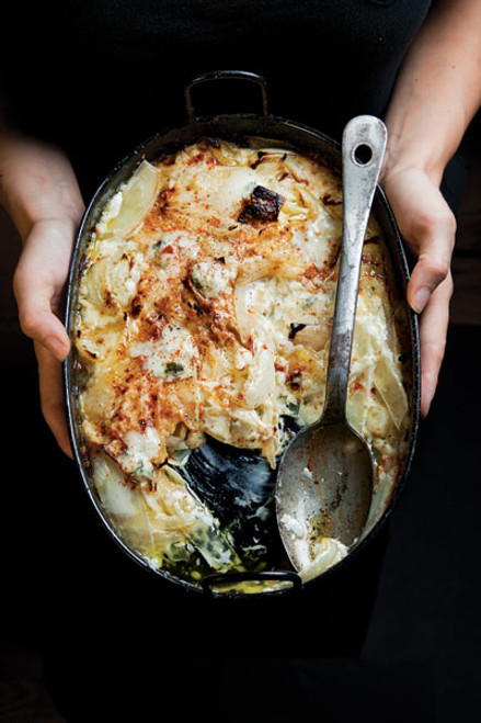 Baked Creamed Onion Gratin - (Free recipe below)