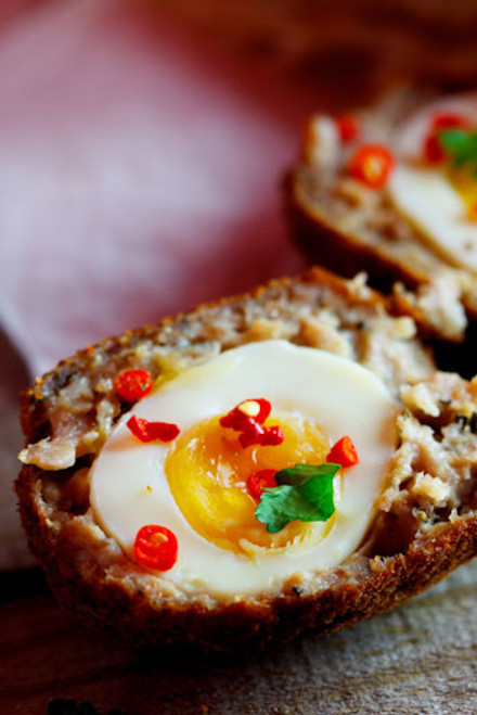 Scotch Eggs - (Free Recipe below)