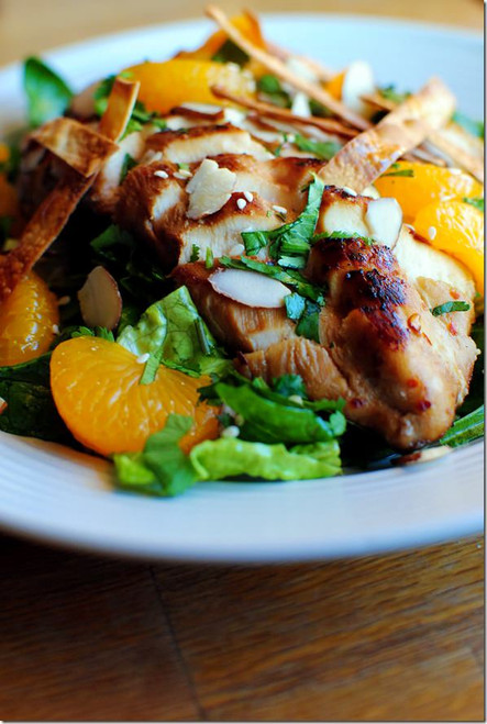 Asian Sesame Chicken Salad - (Free Recipe below)