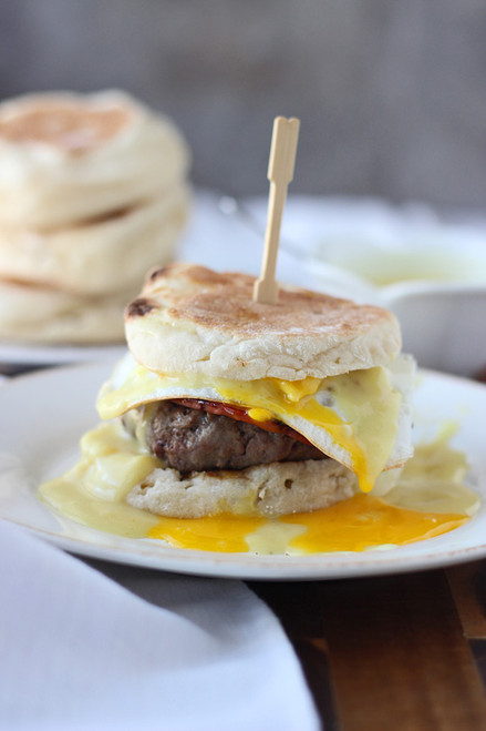 Eggs Benedict Burgers - (Free Recipe below)
