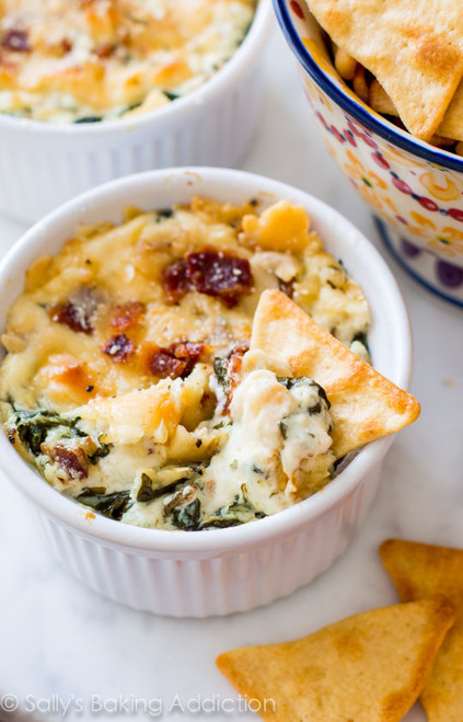 Roasted Garlic and Bacon Spinach Dip - (Free Recipe below)