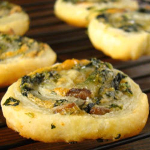 Spinach, Gouda, & Mushroom Puffs - (Free Recipe below)