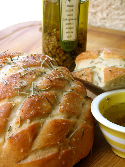 Country Loaf of Bread - (Free Recipe below)