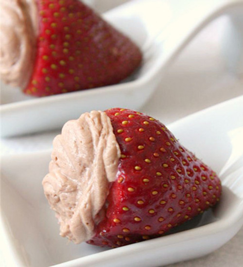 Nutella Cheesecake Stuffed Strawberries - (Free Recipe below)