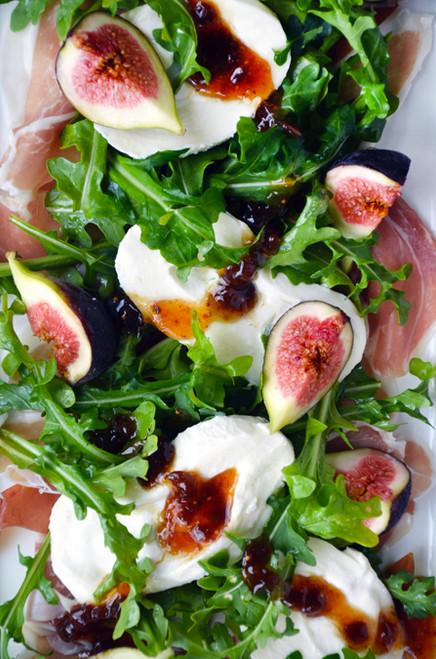 Fig, Prosciutto and Burrata Cheese Salad - (Free Recipe below)