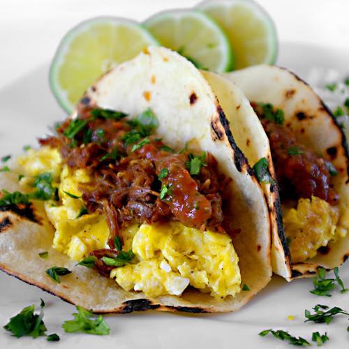 Carnitas Breakfast Tacos - (Free Recipe below)