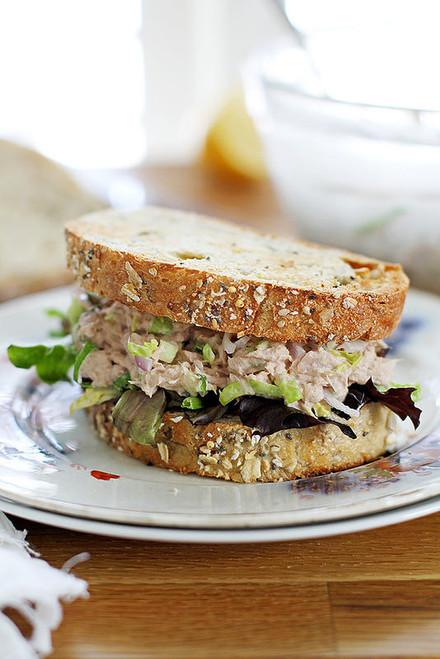 Brussels Sprout Tuna Salad - (Free Recipe below)