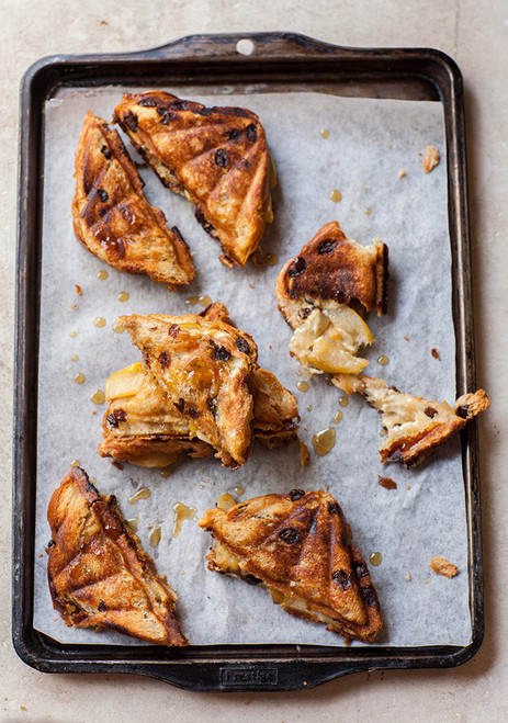 Caramelized Pear and Gorgonzola Toasties - (Free Recipe below)