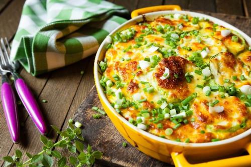 Cheesy Squash Casserole - (Free Recipe below)